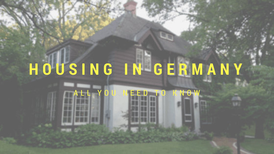 housing in germany